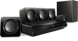 Philips 5.1 home cinema set HTD3510