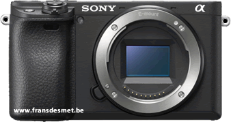 Sony digitale foto camera ILCE6400