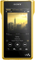 Sony hi-res audio NW-WM1ZN