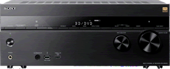 Receiver Receivers van Philips en Sony
